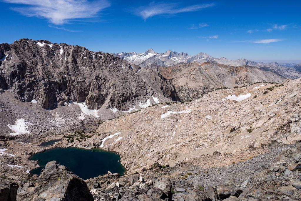 Aufstieg zum Glen Pass