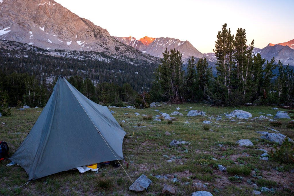 Campground beim South Fork Kings River