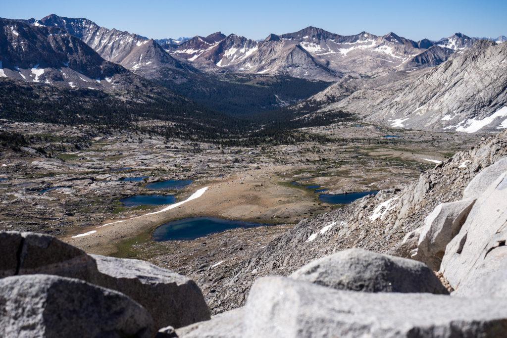 Blick zurück zum Upper Basin