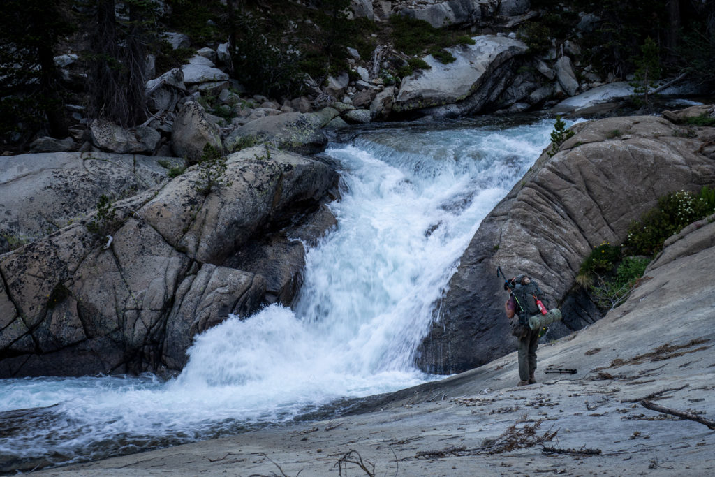 Wasserfall des Middle Fork Kings River