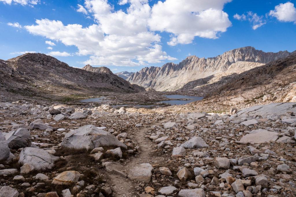 Abstieg vom Muir Pass