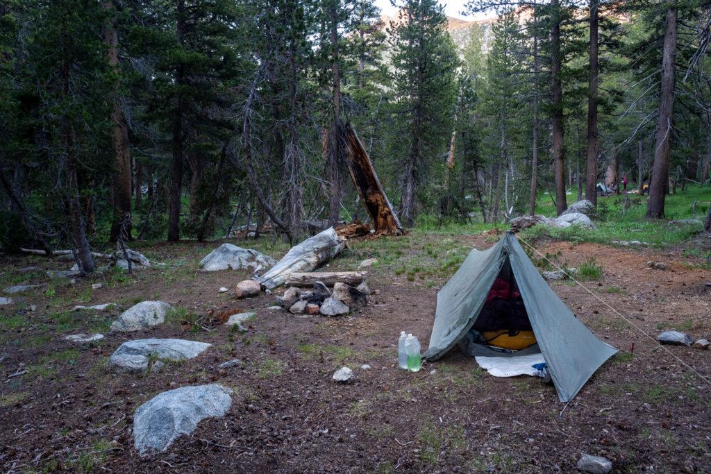 Campground am Senger Creek