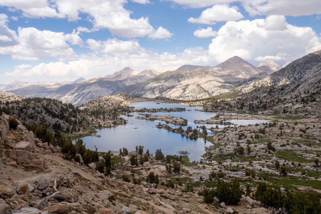 Der zauberhafte Ausblick vom Selden Pass auf den Marie Lake