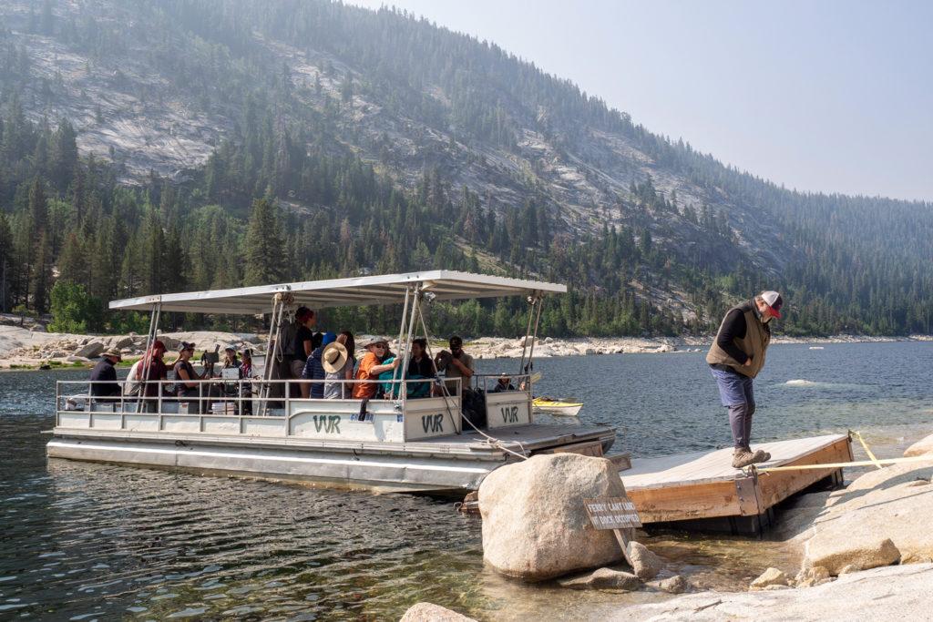Die Fähre über den Lake Thomas A Edison