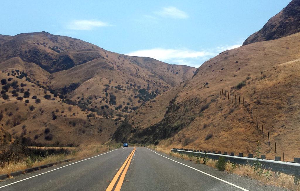 Auf dem Weg vom Valley zu Big Sur