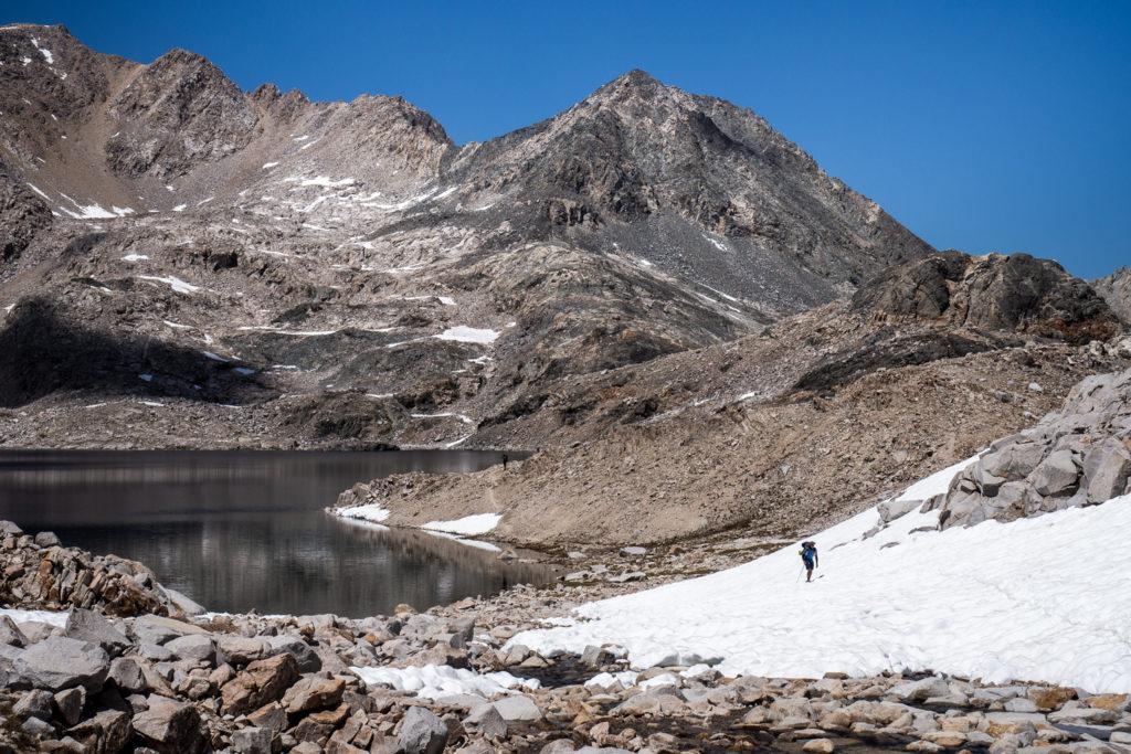 Der Helen Lake unterm Muir Pass