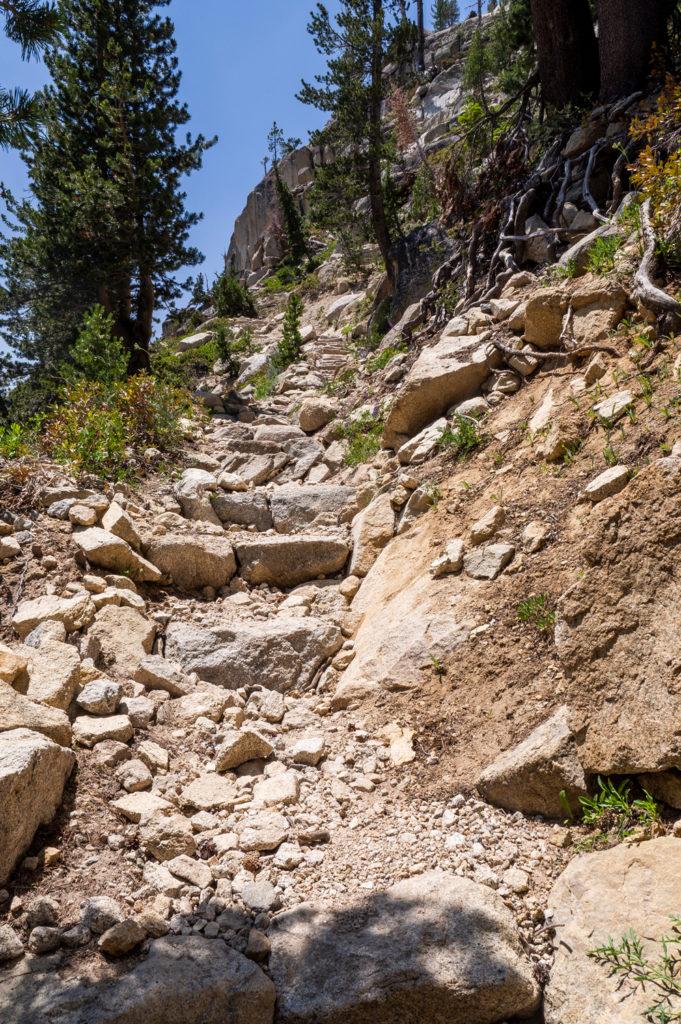 Der Trail ist weiterhin gut ausgebaut