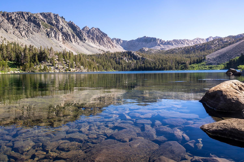 Der glasklare Purple Lake