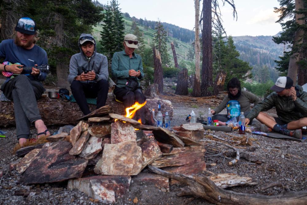 Singing around the Campfire