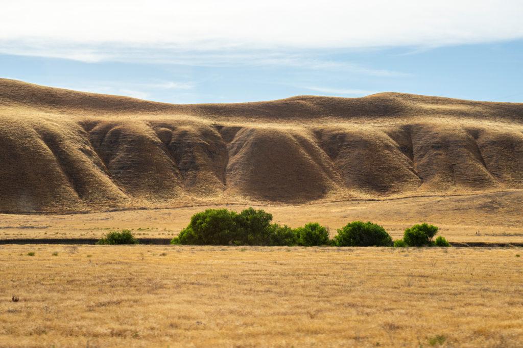 Goldene Berge in Kalifornien