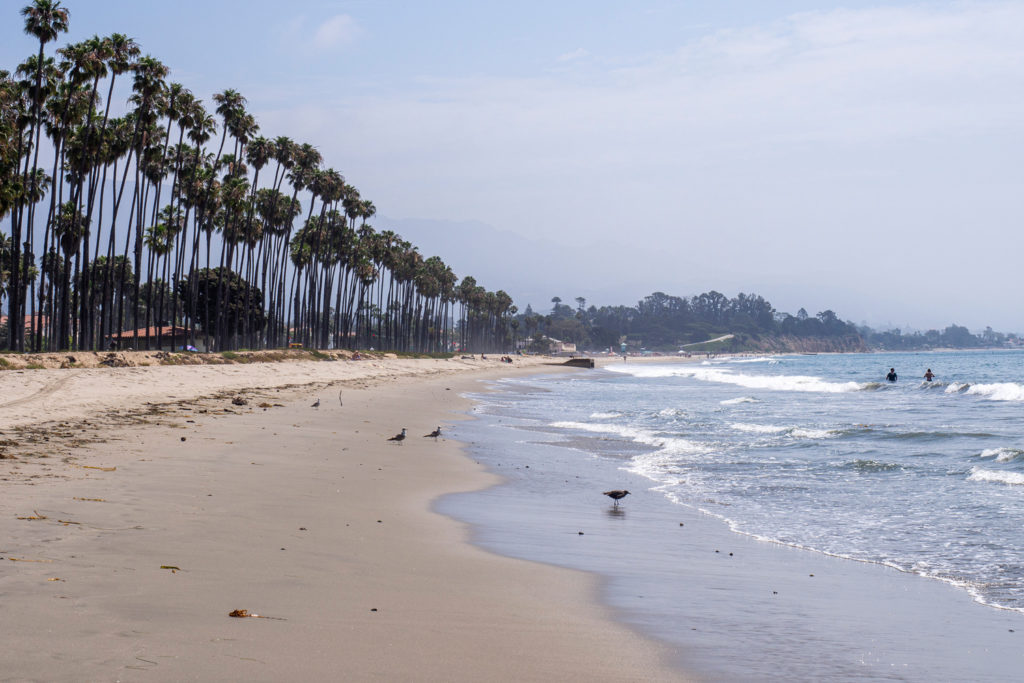 Der Strand in Santa Barbara