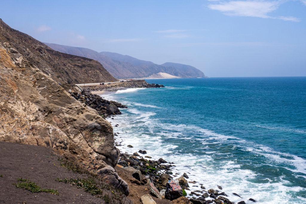 Auf dem Weg zwischen Santa Barbara und Santa Monica