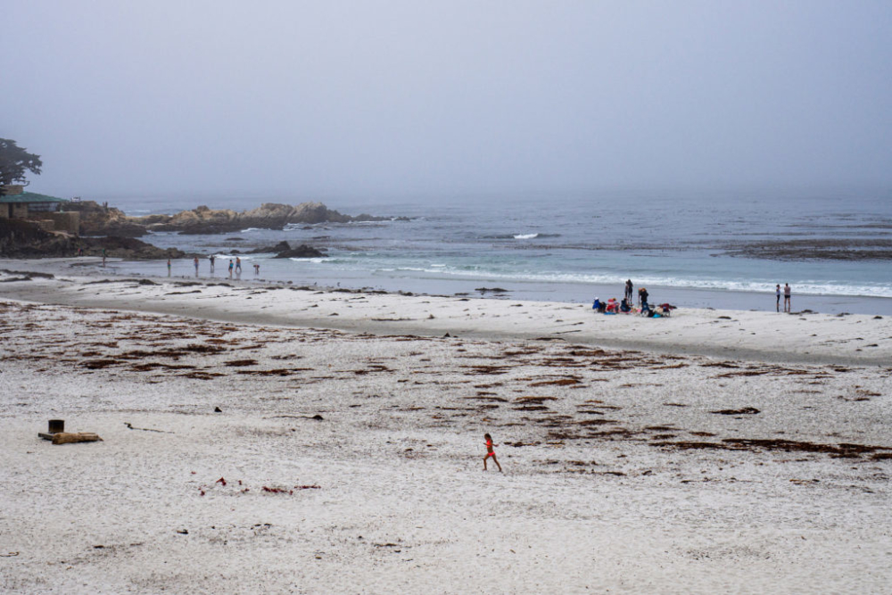 Der Strand in Carmel-by-the-Sea