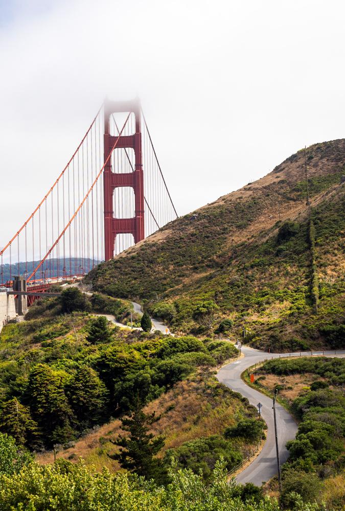 Radln bei San Francisco