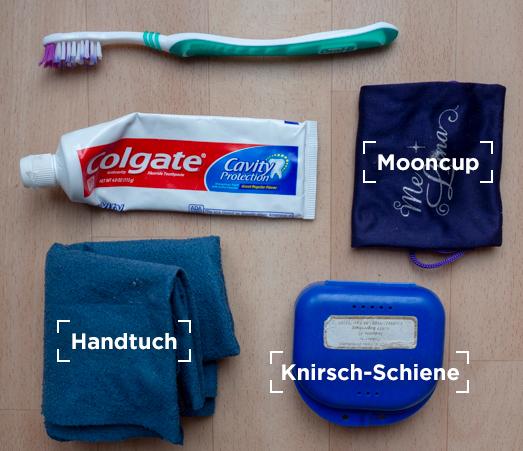 Ausrüstung Hygiene