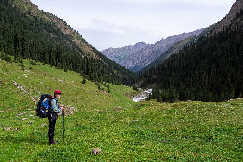 Das grüne Chong-Kyzyl-Suu-Tal