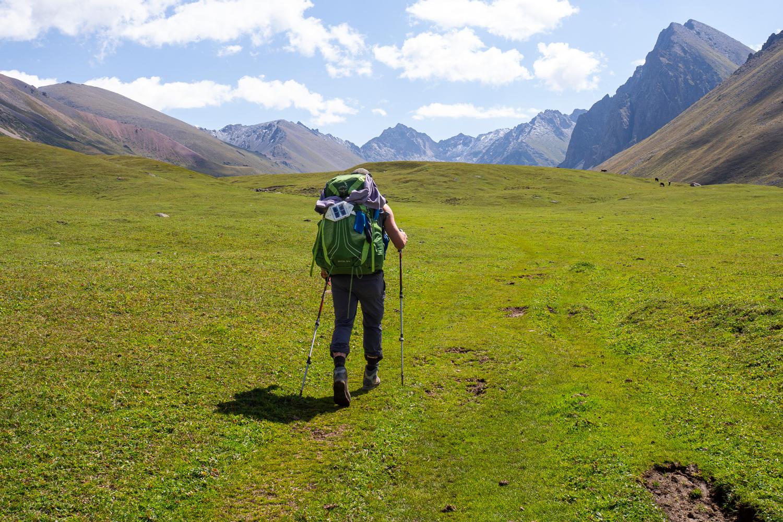 Trekking im Anyr-Tor-Tal in Kirgistan