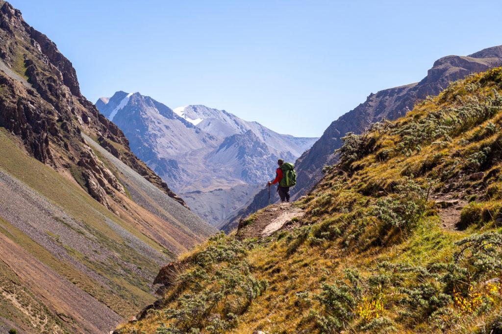 Keregetasch-Schlucht in Kirgistan