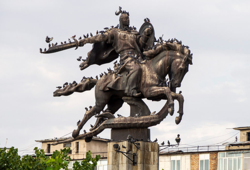 Manas-Statue in Bishkek